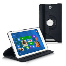 Pelle Custodia protezione per Acer Iconia Tab 8 w1-810 CUSTODIA ECOPELLE NERO