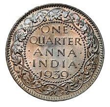 [NC] INDIA - GIORGIO VI - 1/4 QUARTO ANNA 1939 FDC (nc5035)
