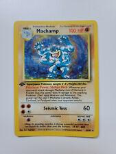 New listing Machamp - 8/102 Base Set Pokemon - Holo Rare