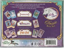 Bella Sara Classic box set Treasures, Royalty, Bella's Ball 5 jumbo shiny cards