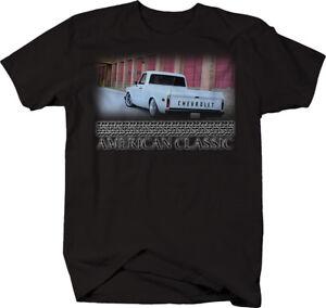 Car T-Shirt C10 1967-72 Pickup Hotrod American Muslce Car Shirt