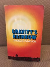 Gravity's Rainbow Thomas Pynchon First Printing Softcover Jonathan Cape London