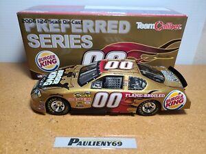 2006 Bill Elliott #00 Burger King Michael Waltrip Racing 1:24 NASCAR CFS MIB