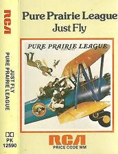 Pure Prairie League Just Fly CASSETTE Country Rock  Album RCA PK 12590