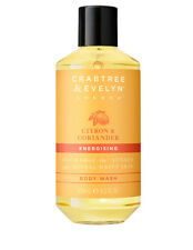 NEW Crabtree And Evelyn Citron & Coriander Body Wash 250ml