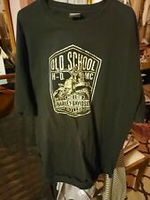Harley Davidson Black T-shirt ,Old School 2014