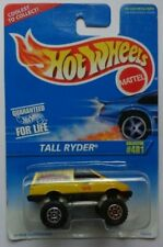 1996 Hot Wheels Tall Ryder Col. #481 (Yellow)(Gear Style Hub Wheels)