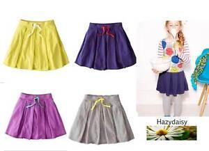 Mini Boden skirt girls easy jersey 2 3 4 5 6 years new grey purple pink