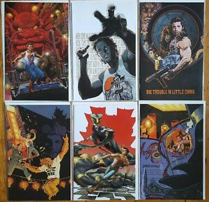 BIG TROUBLE in LITTLE CHINA 1-6 Incentive Variants Carpenter Russell Rock Sequel