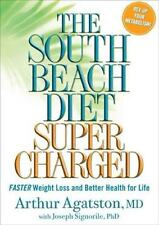 The South Beach Diet Supercharged FREE SHIPPING Hardcover book Arthur Agatston