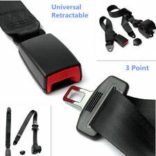 Automatic Retractable 3-Points Auto Truck Bus Safety Seat Lap Belt Set Universal