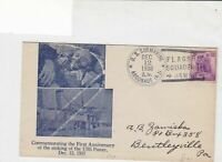 united states 1938 comm 1st anniv. of sinking of USS Panay stamps cover ref21407