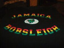 Jamaica Bobsleigh Black T-shirt Men's Size L Bobsled