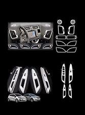 Autoclover Chrome Interior Molding Kit Trim Cover for Kia 12+ Rio Rio 5 Car