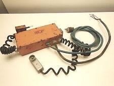 Ensley 665TL conduit bender control panel with pendant control