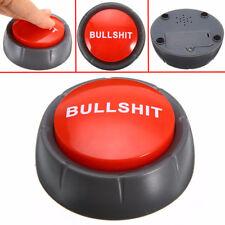 Bullshit Alert Button Desktop Joke Toy Office Prank 5 Phrases Light and Sound WW