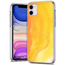 Thin Gel Phone Case Cover Apple iPhone 11,PastelGradient 4 Design Texture Print