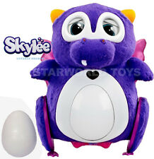 Bossa Nova Purple Skylee Interactive Dragon Robot Toy with egg bebe NEW NIP