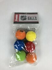 Franklin Sports Mini Foam Hockey Balls - Knee Hockey Balls for Kids - 6 Soft -