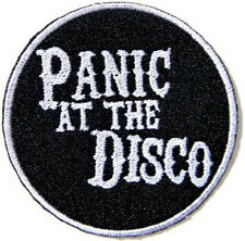 Panic at The Disco Embroidered Iron on Shirt Jacket Badge Patch 3""