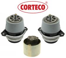 OEM Engine Motor Mount + Transmission Mount 3pcs Corteco Porsche Cayenne V6