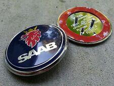 "Saab 9-5 9-3 Front Hood Bonnet Emblem Badge Symbol logo 68MM 2.625"" 5289905"