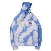 INS Astroworld Travis Scott TOUR Birthday Party Hoodie Tie Dye Unisex Tops Coat