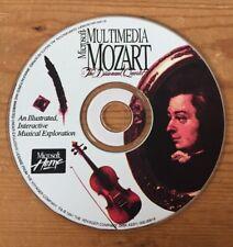 1993 Vintage Multimedia Mozart Interactive Music Exploration Homeschool CD-ROM