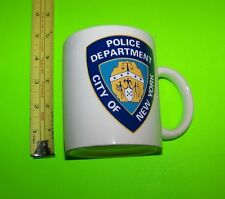Police Department City Of New York  Mug / Cup