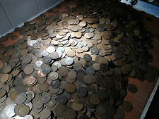 200  Pennies coins brass victoria edward george 200 coins in this bulk lot kings