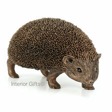 LARGE HEDGEHOG WALKING Frith Cold Cast Bronze Sculpture Thomas Meadows Snuffles