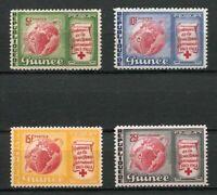 27209) Guinea 1963 MNH Neu Red Cross - Rotes Kreuz 3v
