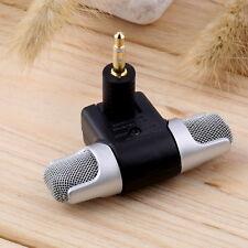 1pc New Mini Stereo Microphone Mic 3.5mm Mini Jack PC Laptop Notebook NewTE