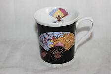 Mug Cup Tasse Queen's Oriental Fan J.W.Bradley