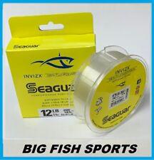 SEAGUAR INVIZX 100% Fluorocarbon Line 12lb/200yd 12 VZ 200 FREE USA SHIPPING!