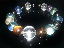 Gorgeous replica darts Jewelry six gemstone onyx aqua aura Gackt Bracelet