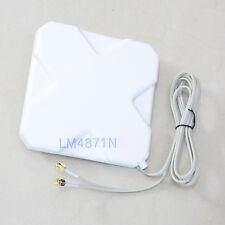 3G 4G Lte Broadband Antenna 35dB Rp-Sma Booster Signal Amplifier External Cable