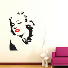 MARYLIN MONROE Wall Decor Decal Sticker Large