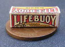 1:12 Scale Empty Old Lifebuoy Soap Packet Tumdee Dolls House Miniature Kitchen