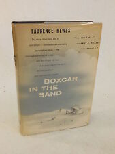 Laurence Hewes - BOXCAR IN THE SAND - An Autobiography - 1957 HC/DJ 1stEd