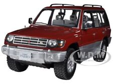 1998 MITSUBISHI PAJERO LONG 3.5 V6 BURGUNDY 1/18 BY SUNSTAR 1224