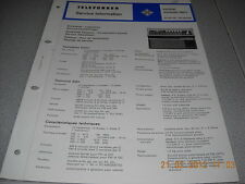 TELEFUNKEN Kofferradio partner exclusiv 401L Service Manual