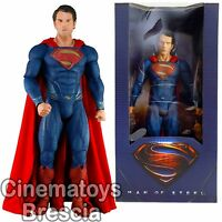 Man Of Steel 18'' Superman 1/4 Scale Action Figure NECA Movie 2013 45 CM ENORME!