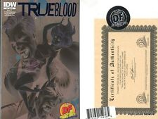 True Blood #2 Exclusive Campbell Limited Variant with COA - Dynamic Forces IDW
