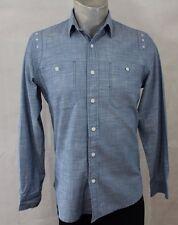 Topman denim shirt size Medium