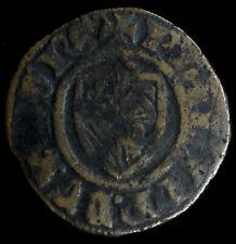 France-Flanders Double Mite 1384-1404 billon Philip Bold Burgundy Netherlands