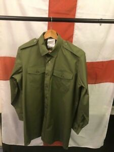 General Service Army Green Shirt- British Army Issue