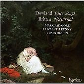 Dowland & Britten: Lute Songs, Elizabeth Kenny, Craig Ogden, Ma, Very Good CD