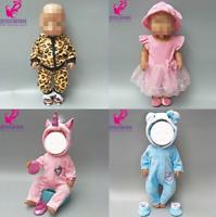 Puppenkleidung Baby Born kompatibel für Puppen (43cm) Bekleidung Konvolut Puppe