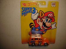 Hot Wheels Super Mario Bros. 3 Orange School Busted Real Rider RARE FREE SHIP